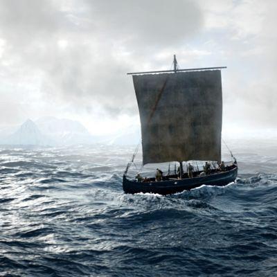 Dokumentti löytöretkeilijöistä, jotka ehtivät Amerikkaan ennen Kolumbusta.