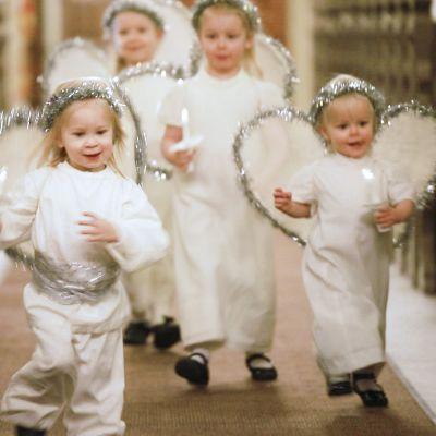 Enkelikirkko on viattomien lasten päivän perinne