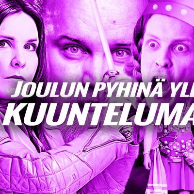 Kuvassa Pirjo Heikkilä - Naisen Kosto, Göstä Sundqvist, Antti Holma ja oopperajuhlat sekä Kikka.