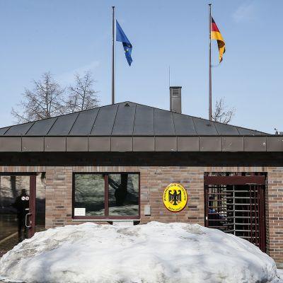 Saksan suurlähetystö Moskovassa.