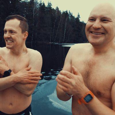 Sami Jauhojärvi ja Kalle Palander