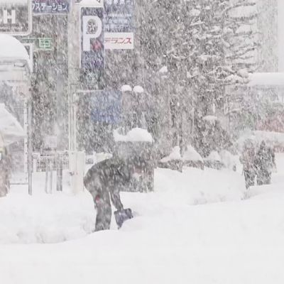 Lunta on tullut muuallakin maailmassa