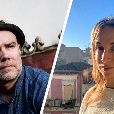 Mikko Leppänen ja Jenna Vehviläinen.