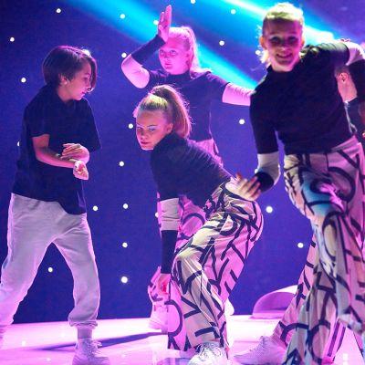 dansare på scenen