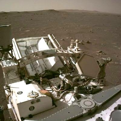 Nasa on julkaissut ensimmäisen videon mönkijän viime viikkoisesta laskeutumisesta Marsiin