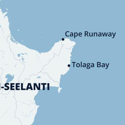 Uusi-Seelati tsunamivaroituskartta