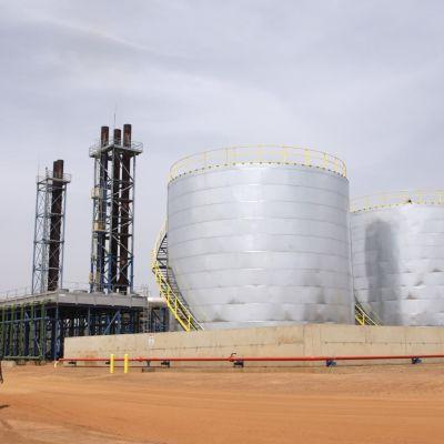 Wärtsilän tuotantolaitos Senegalissa