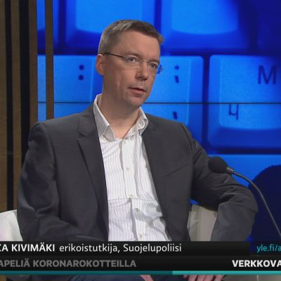 Supon erikoistutkija Veli-Pekka Kivimäki kertoi A-studiossa verkkovakoilusta.