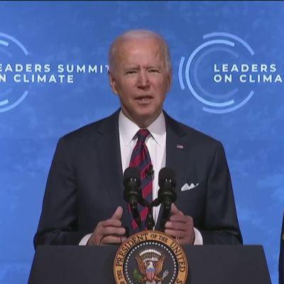 Biden kertoi Yhdysvaltojen ilmastotavoitteista