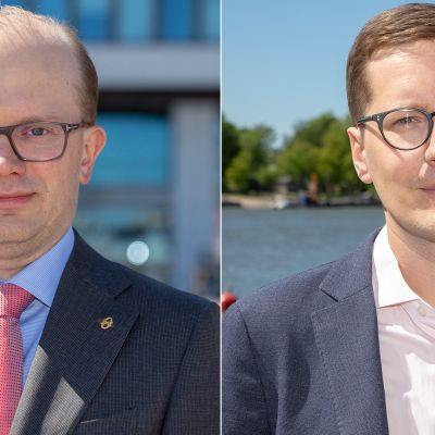 Penna Urrila ja Ilkka Kaukoranta.