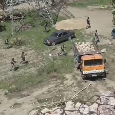 Vesikiista kiristää jännitteitä Kirgisian ja Tadžikistanin rajalla