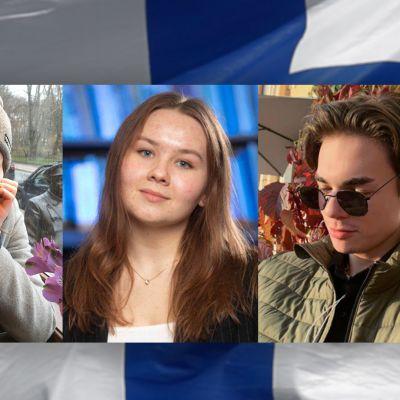 Pietarilaisia opiskelijoita