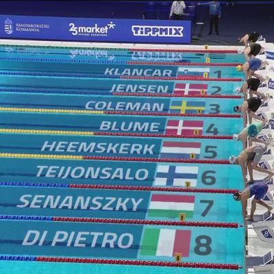 Fanny Teijonsalo rikkoi Suomen ennätyksen!