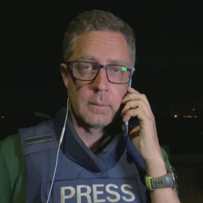 Ylen toimittaja Gazan rajalta: Täällä on ollut intensiivistä viime tunnit