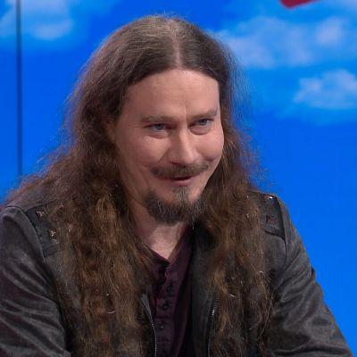 Nightwish-yhtyeen Tuomas Holopainen Puoli seitsemän -ohjelman vieraana