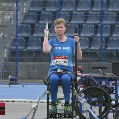 Marjaana Heikkinen jälleen Euroopan mestariksi!