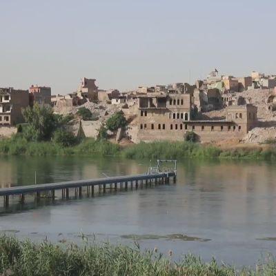 Ääriliike Isis karkotettiin Mosulista kesällä 2017, mutta sodan tuhoja korjataan vielä