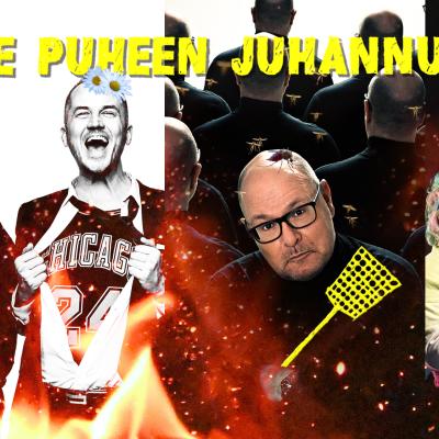 """Kuvassa Lindgren & Sihvonen, Ruben Stiller ja Jenny """"Puikko"""" Lehtinen ja Kati """"Koukku"""" Keinonen."""