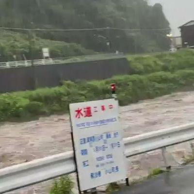 Kylpyläkaupunkiin iski voimakas mutavyöry Japanissa – useita kateissa, merestä löytyi kaksi ruumista