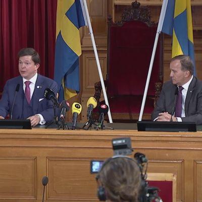Löfvenin hallitus äänestykseen keskiviikkona