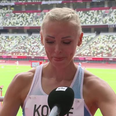 Annimari Korte kyynelehti haastattelussa