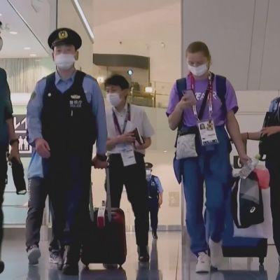 Valko-Venäjän pikajuoksijaa yritetään lähettää väkisin kotiin Tokiosta