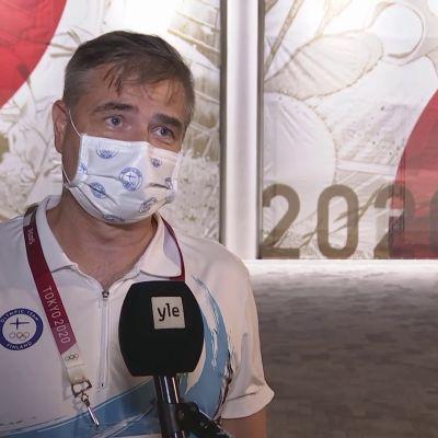 Suomen olympiakomitean Mika Lehtimäki haluaa kehittää huippu-urheilun lähtökohtia