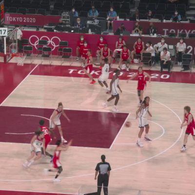 USA kultaan naisten koripallossa