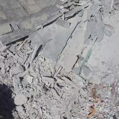 Haitin maanjäristyksen raivaustyöt jatkuvat