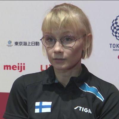 Aino Tapola avasi suomalaisten paralympiataipaleen