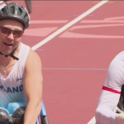 Toni Piispanen kelaa 200m paralympiakultaa T51-luokassa!