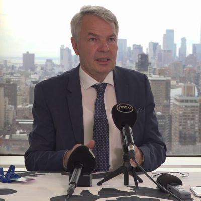 Ulkoministeri Haavisto kommentoi YK:n Afganistan-keskusteluja