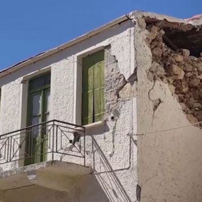 Maanjäristys Kreetalla