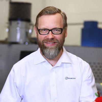 Finvaconin toimitusjohtaja Kaj Sundén.