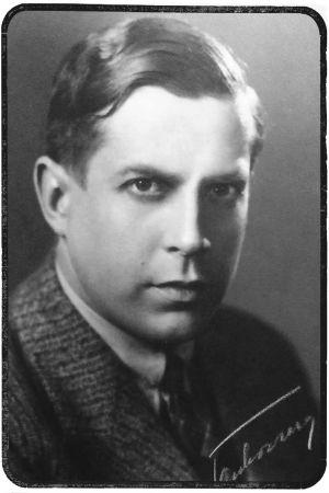 Nuori säveltäjä Felix Krohn.