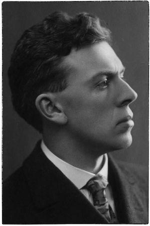 Nuori säveltäjä Ernest Pingoud