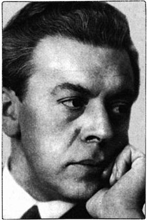 Säveltäjä Ernest Pingoud 1930-luvulla.