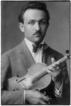Nuori viulisti Boris Sirob.