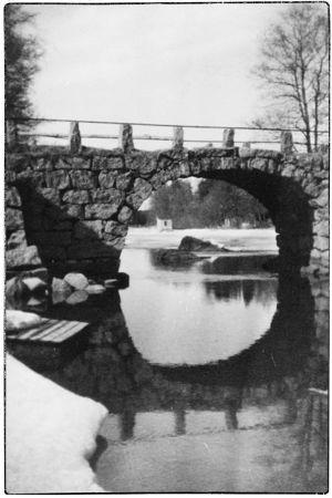 Sorvalin silta Viipurissa 1920-1930-luvuilla.