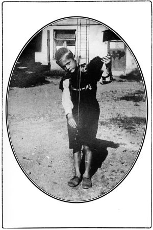 Heimo Haitto 6-vuotiaana Torniossa.