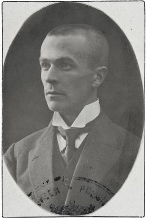 Säveltäjä Väinö Raitio 1920-luvulla.