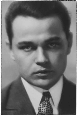 Pianisti Arvi Valkonen 1920-luvun lopulla.