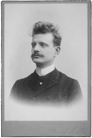 Jean Sibelius 1890–1895.