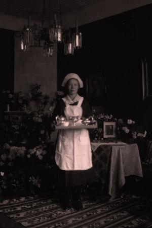 Palvelija Kaukajärven kartanossa 1919