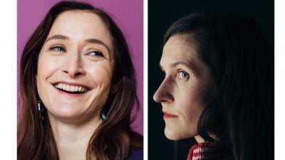Illustratören Linda Bondestam och författaren Malin Kivelä.