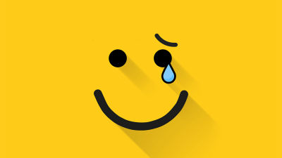 Itkevä smiley face