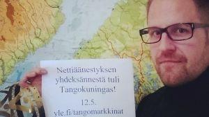 Kyösti Mäkimattila on Tangokuningas 2013
