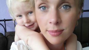 Kukka Sariola ja tytär Elli