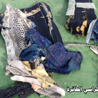Rester som har hittats i Medelhavet analyseras nu.