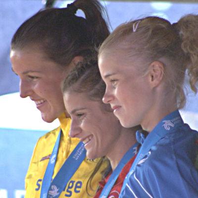 Alisa Vainio tog brons på 3000 m hinder i Eskilstuna